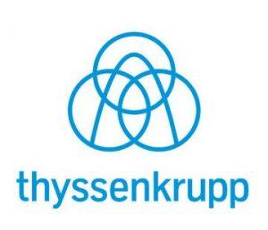 logo thang máy thyssenkrupp