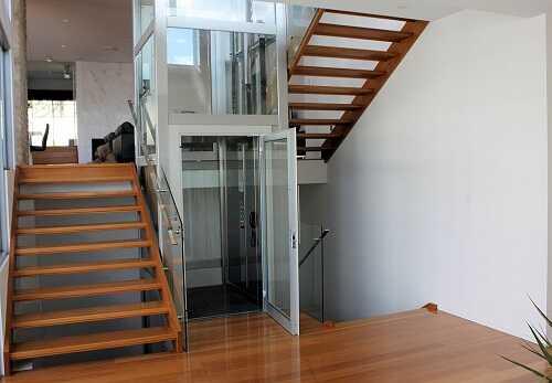 thang máy gia đình không hố pit giúp tiết kiệm không gian